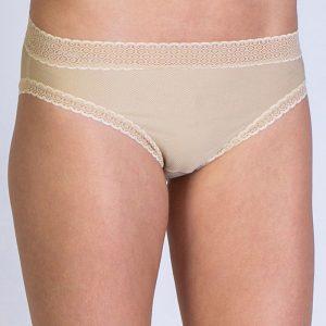 Bikini Brief Lacy – Nude